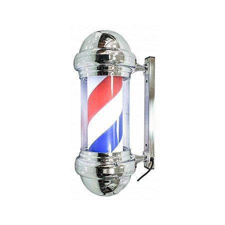 Barber Pole Poste de Barbeiro 60cm 220v