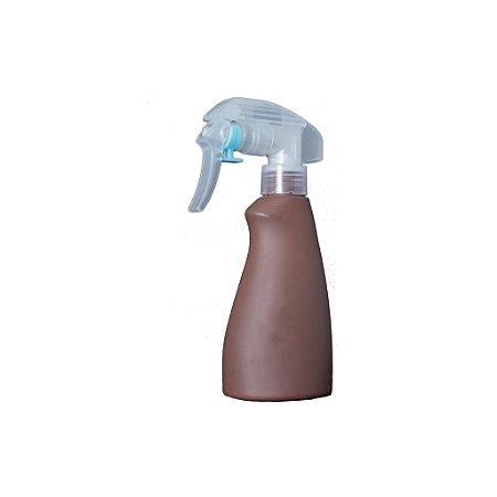 Borrifador Pulverizador Para Barbeiros Portatil Marrom De Plastico
