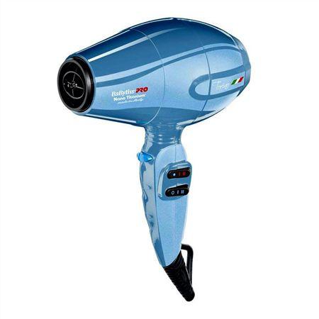 Babyliss Pro Secador Nano Titanium Torino 6100 Azul - 110V