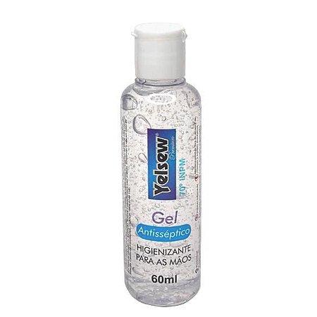 Gel Antisséptico higienizante Para as Mãos 60ml - YELSEW