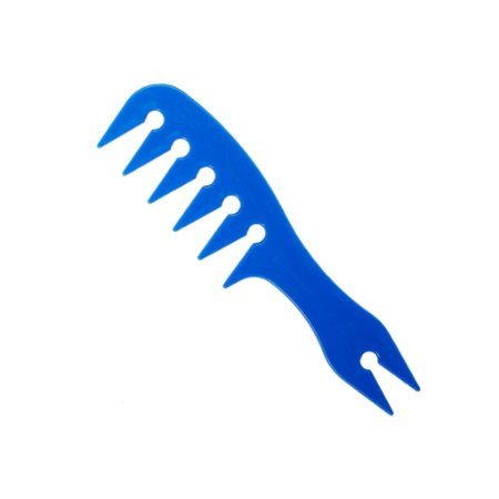 Pente Profissional De Plastico Quiff de Mil 20,0cm AZUL