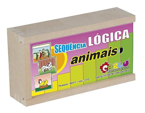 Jogo Sequência Lógica Animais