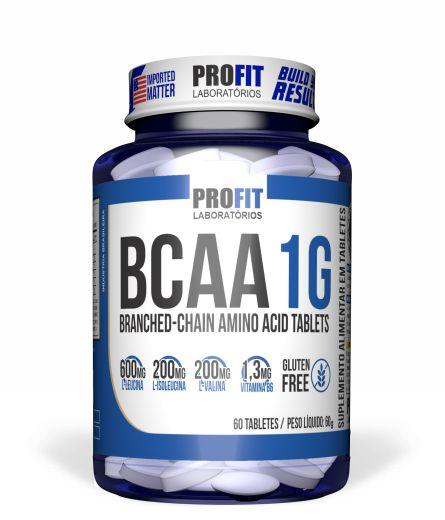 BCAA 1G - 60 tabletes - Profit