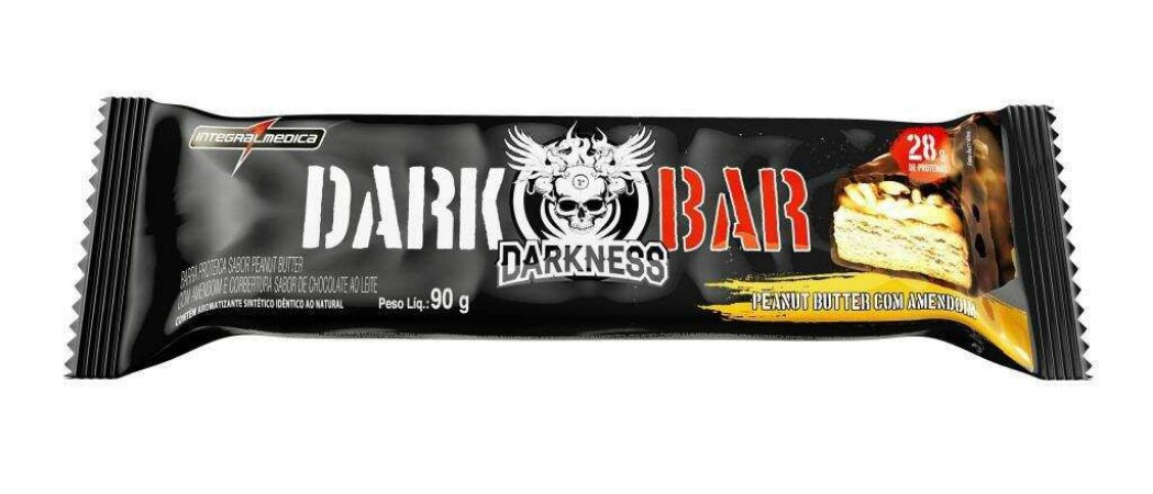 Dark Bar - 01 Unid (90g) - Integralmedica