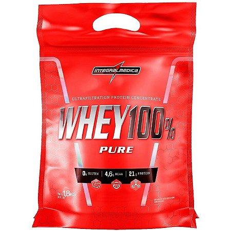 Whey 100% Pure - 1,8kg - Integralmédica