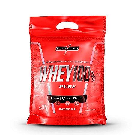 Whey 100% Pure Refil - 907g - Integralmédica