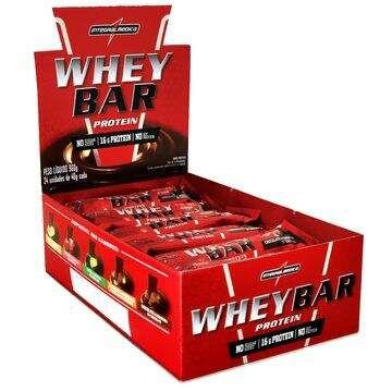 Whey Bar Protein - caixa 24 unidades - Integralmédica