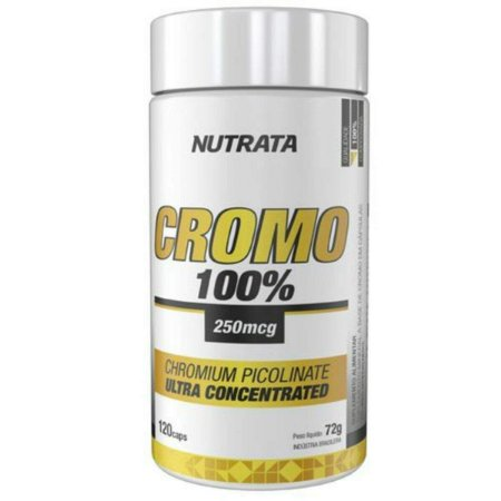 Cromo 100% 250mcg - 120 caps - Nutrata
