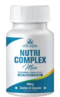 Nutri Complex Men - 60 caps - União Vegetal