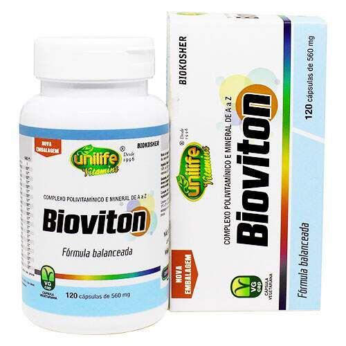 Bioviton (Multivitaminico/mineral) - 120 caps - Unilife