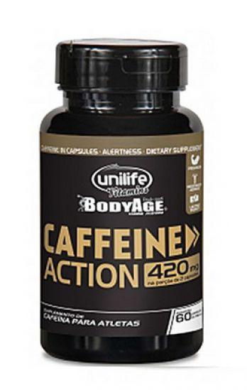 Caffeine Action - 120 caps - Unilife