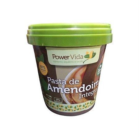 Pasta de Amendoim Integral - 500g - Power Vida