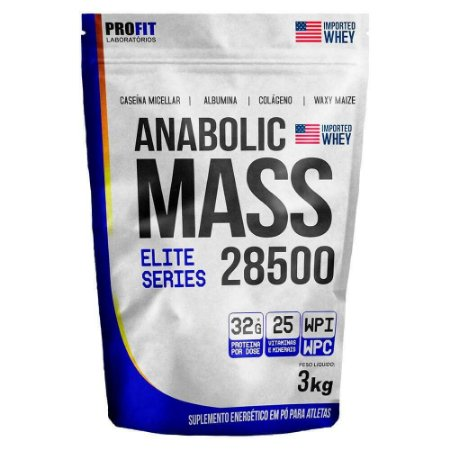 Anabolic Mass 28.500 - 3Kg - Profit