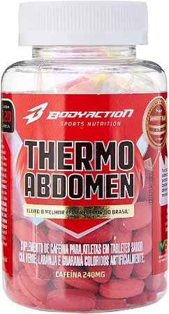 Thermo Abdomen - 120 tabs - Body Action