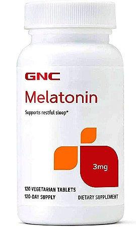 Melatonina 3mg - 120 tabs - GNC