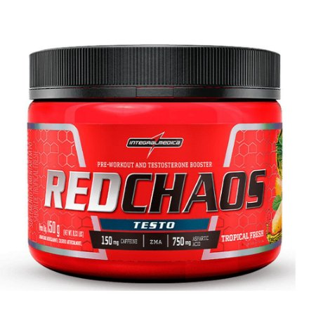 Red Chaos Testo - 150g - Integralmédica