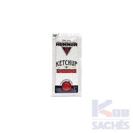 Ketchup Sachê Hemmer 7g caixa c/ 190 unidades