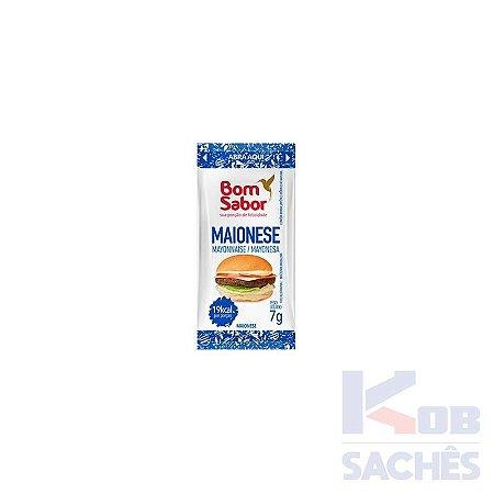 Maionese Sachê Bom Sabor 7g caixa c/ 182 unidades