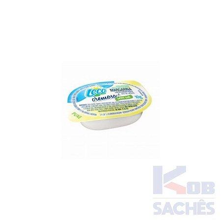 Margarina sem Sal Leco 10g caixa c/ 192 unidades