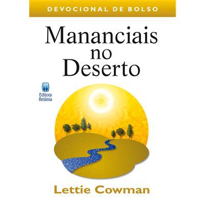 Mananciais no Deserto de bolso Lettie Cowman