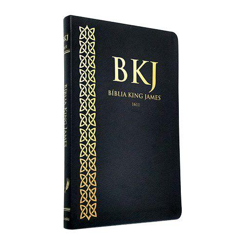 BIBLIA BKJ ULTRA FINA NOVA - PRETA