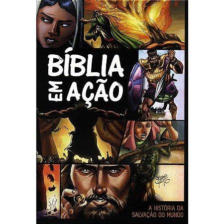 BIBLIA EM ACAO CAPA DURA