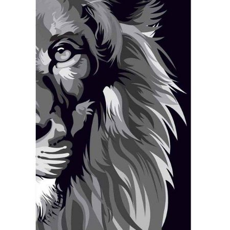 BIBLIA LION COLOR | NVT BLACK & WHITE Letra Normal