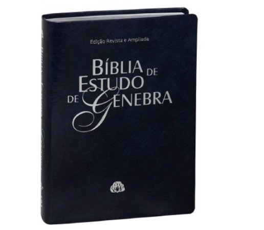 Bíblia  de estudo de Genebra  preta