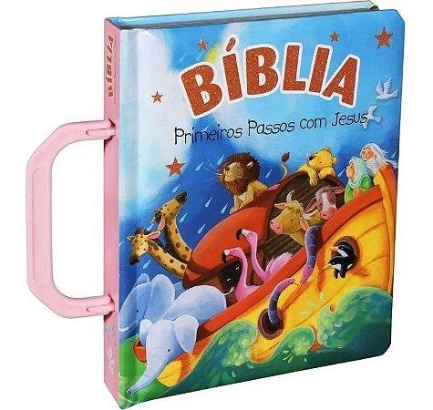 BIBLIA PRIMEIROS PASSOS COM JESUS ALCA ROSA