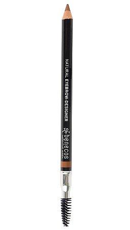 Lápis de Sobrancelhas Orgânico Natural Gentle Brown – Benecos
