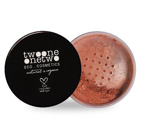 Bronzer Facial Leite de Coco Natural Vegano Twoone Onetwo 9g Bronze