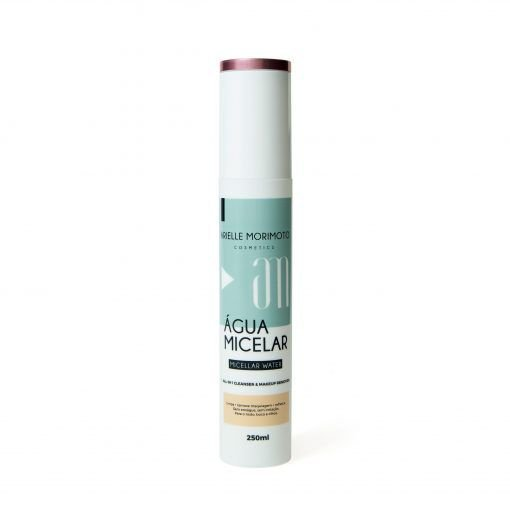 Água Micelar Vegana 100% Natural Arielle Morimoto Cosmetics 250ml