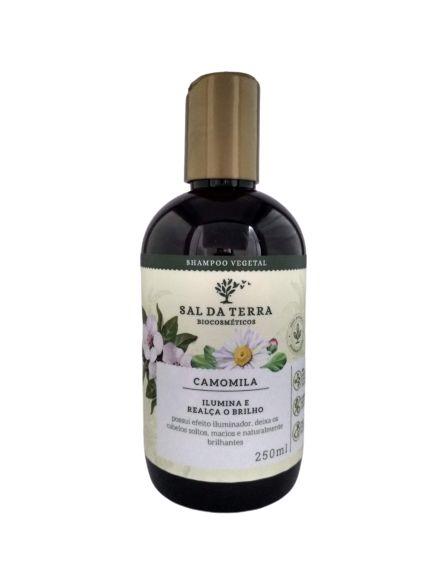 Shampoo Natural e Vegano Camomila – Sal da Terra -250 mL