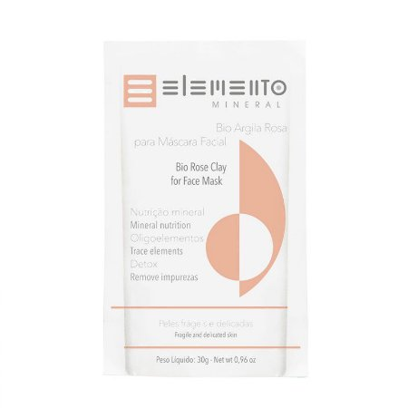 Bio Argila Rosa - Elemento Mineral -30g
