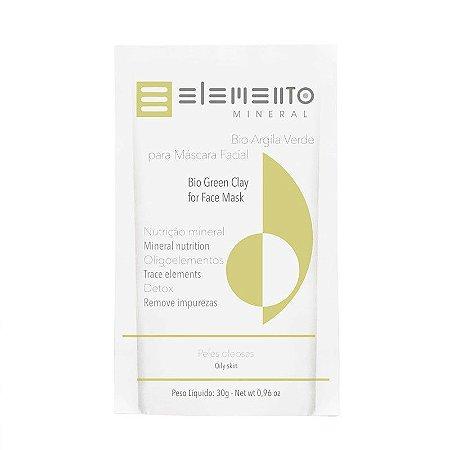 Bio Argila Verde - Elemento Mineral -30g