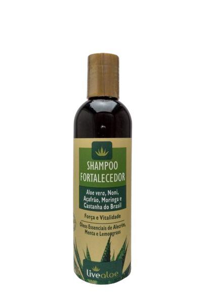 Shampoo Fortalecedor – Livealoe – 240 ml