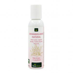 Demaquilante Natural– Livealoe – 120 ml