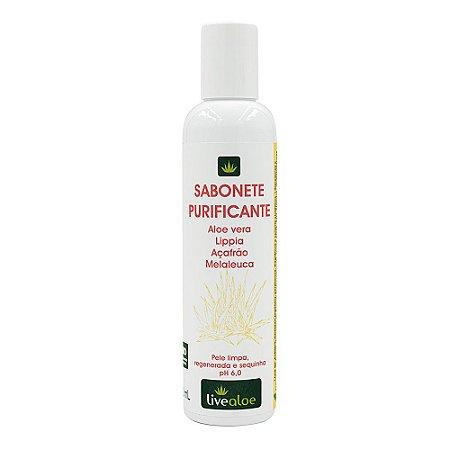 Sabonete Purificante – Livealoe – 200 ml