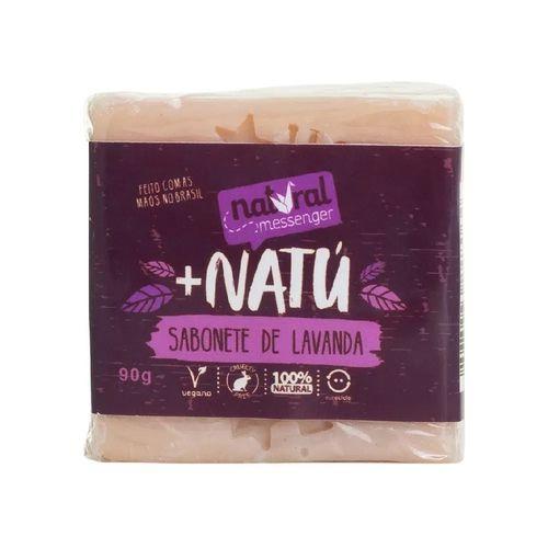 Sabonete De Lavanda Natural Hidratante – Natural Messenger - 90g
