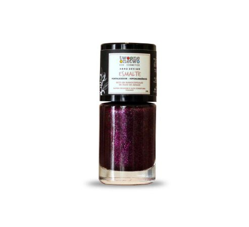 Esmalte Hipoalergênico Vegano Fortalecedor Twoone Onetwo 10ml Pink (REF 1107)