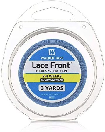 Fita Adesiva Prótese Capilar Lace Front 3 yards x 1,27cm