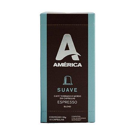 Cápsula Café América Suave