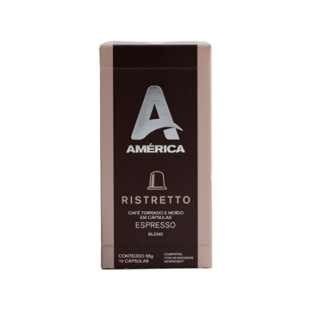 Cápsula Café América Ristretto
