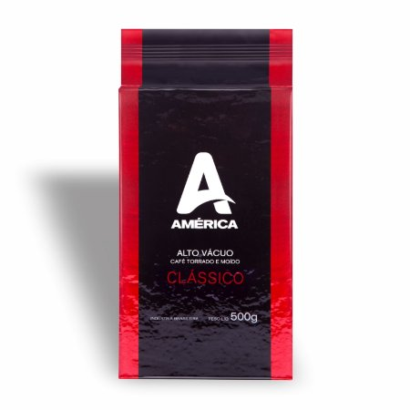 Café América Vácuo Torrado e Moído Tradicional 500g