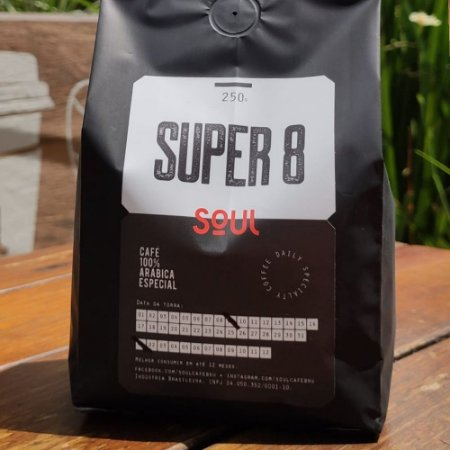 Café Moído  Super 8 Soul 250g