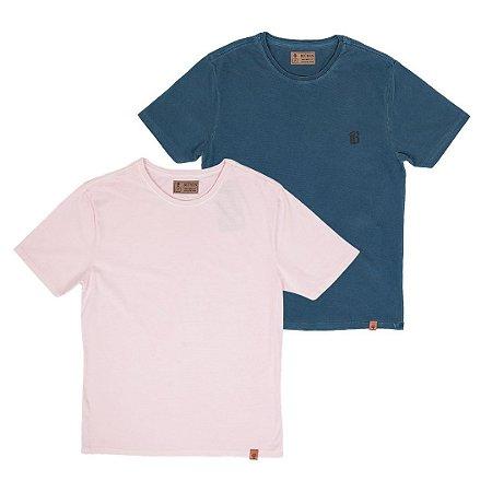 Kit 2 Camisetas Masculinas, Chicago