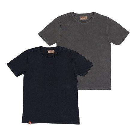 Kit 2 Camisetas Masculinas, Kansas