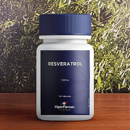 Resveratrol 100mg - 60 cápsulas