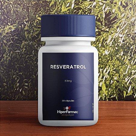 Resveratrol 50mg 30 cápsulas