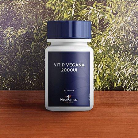 Vit D vegana 2000ui 30 cápsulas